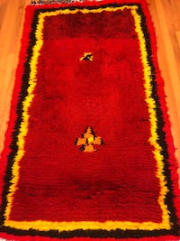 very good wool rug very well done by hand Burke, 22015