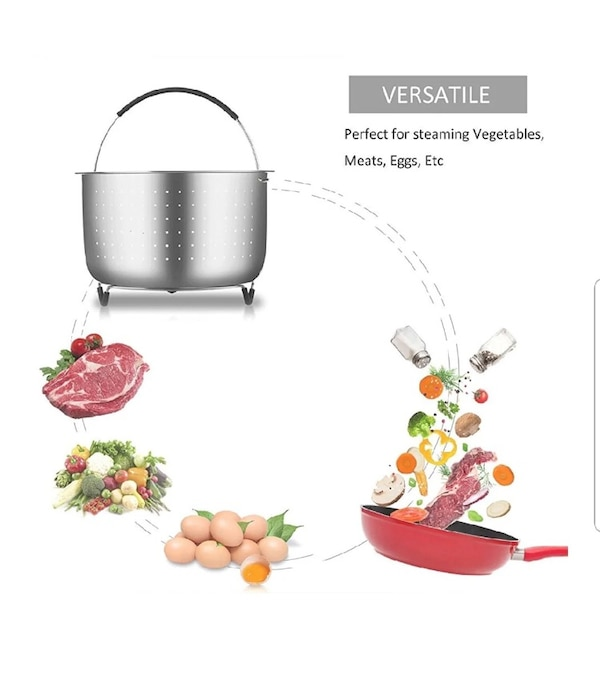 6 to 8 quart steamer insert stainless steel with oven mitt pickup mcsherrystown food lion  8743c7c5-a7cf-458f-ac1f-ca49960d7f3a