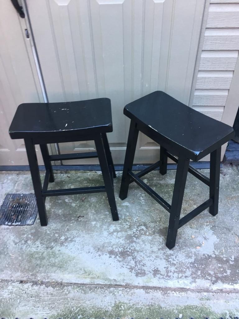 used black wooden kitchen counter bar stools for sale in new york rh gb letgo com