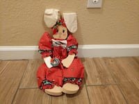 red Bunny plush toy