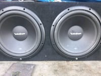 black and gray subwoofer speaker Bakersfield, 93309