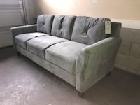 New Olive Green Sofá Couch Franklin, 37064
