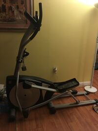 Exercise machine negotiable Sterling