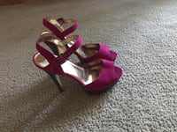 Forever21 Glitter Heels. Size 8 Imperial, 63052
