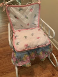 NEGOTIABLE! Antique baby rocking chair Raymond, 39154