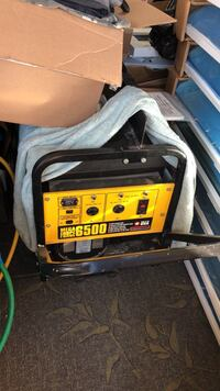 black and yellow portable generator Oceanside, 92056
