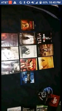 assorted DVD movie case lot Columbia, 65202