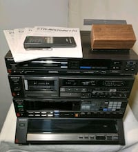 Sony Components Audio System