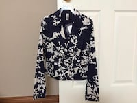 Brand new floral blazer size small  Edmonton, T5T 4V6