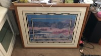 brown wooden framed painting of house La Quinta, 92203