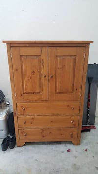 Solid Armoire