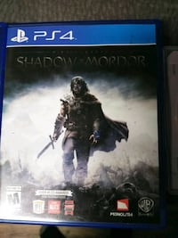 Shadow of Mordor PS4 game case Draper, 84020