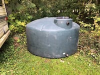 1100 GALLON PLASTIC POTABLE WATER STORAGE TANK Maple Ridge, V2W