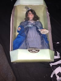 Marilyn birthstone collection porcelain doll