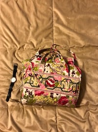 Vera Bradley Pink, green, and white floral travel caddy Arlington, 22213