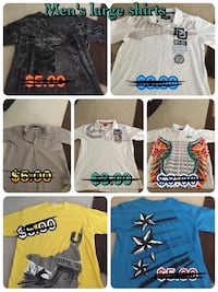 Men's large shirts $1-$5 Selma, 78154