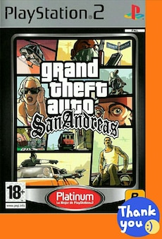 Juego PS2 «Grand Theft Auto San Andreas»