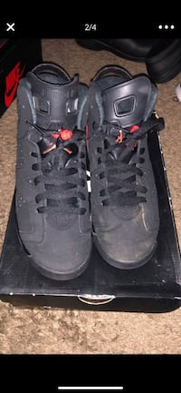 "Air Jordan Retro 6 ""Infared"" Silver Spring, 20904"