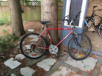 red and gray hardtail mountain bike Langley, V3A 1X6