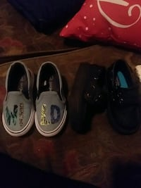 Toddler shoes size 6 for all three pairs $35 Richland, 99352