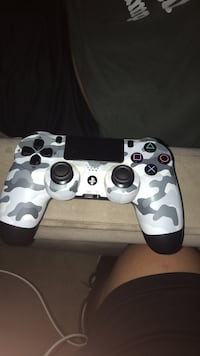 white and black camouflage Sony PS4 controller Santa Ana, 92707