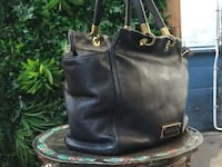 Marc by Marc Jacobs black leather bag - good condition North Sydney, 2060