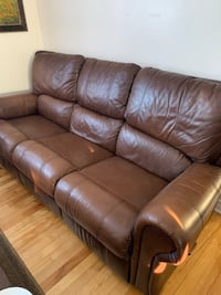 Couch and Rocker Recliner