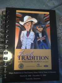 Family Tradition The Williams Family Legacy spiral book Lebanon, 37087