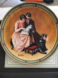 Edwin M. Knowles collectors plate Middletown, 21769