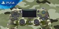 Sony Video Game Controllers –GREEN CAMO Winter Haven