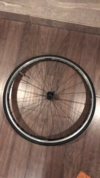 black and gray bicycle wheel 41 km