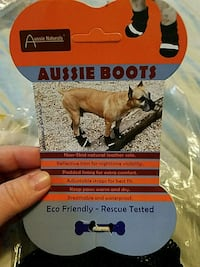 Aussie Boots(for dogs)  size large