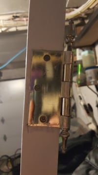 FRENCH DOOR WITH BRASS TARNISH PROOF HARDWARE