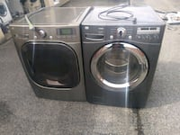 Steam washer and dryer set made by LG stainless steel works good 6-mon Prince George's County, 20746