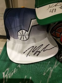 Trey Lyles signed Rookie cap with Meigray LOA