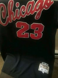 black and red Chicago Bulls 23 jersey Providence, 02906