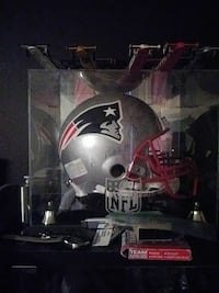 black and red New England Patriots helmet Pomona, 91767