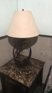 brown and black table lamp Edmonton, T5T 2Z6