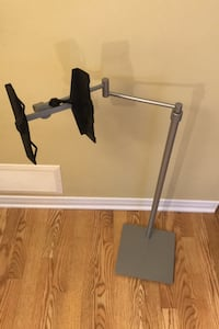 Book holder floor stand (hands free comfortable reading) with wheels