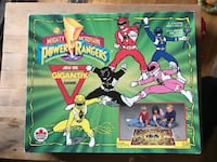 1994 Mighty Morphin Power Rangers Gigantik Board Game  Calgary, T2E 3V7