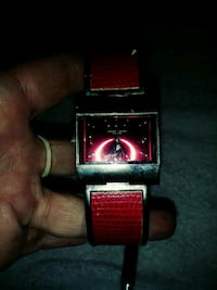 black and red digital watch Blaine, 37709