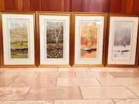 Make me an offer!! Professional Gustafson matted & signed prints.  Fairfax, 22030