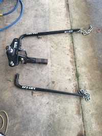 Trailer tow and wait distribution bars $150 or trade what you got. Crystal Springs, 39059