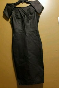 Size small leather-like dress Laurel, 20707
