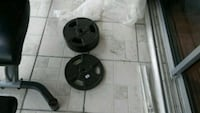 black barbell and weight plates Pembroke Pines, 33027