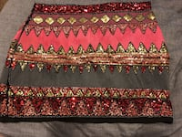 red and white floral textile Stockton, 95206