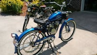 Whizzer motor bike , sale or trade for a Golf Cart Gray, 37615