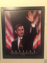 2008 election year Destiny Obama Poster