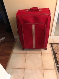 Red luggage North Vancouver, V7H 2T8