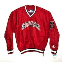 Vintage Nebraska Starter Jacket NEW Lincoln, 68502